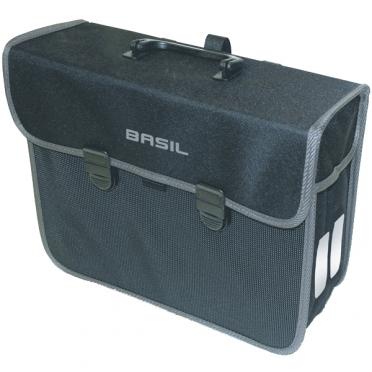 Basil fietstas malaga pakaftas 13L zwart