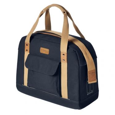 Basil fietstas portland businessbag 19L dames donker blauw