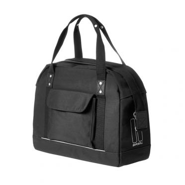 Basil fietstas portland businessbag 19L dames zwart