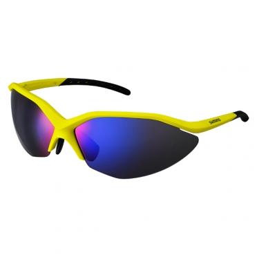 Shimano Bril S52RPH mat geel / zwart