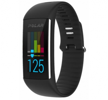 Polar A360 fitness tracker zwart