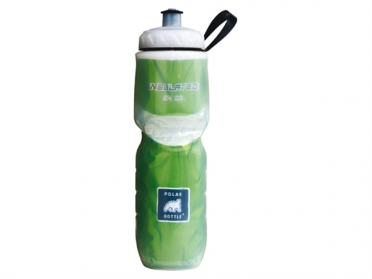 Polar Bottle thermische bidon 0.60 liter groen