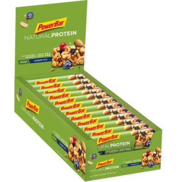 Powerbar Natural protein bar bosbessen 24 x 40 gram