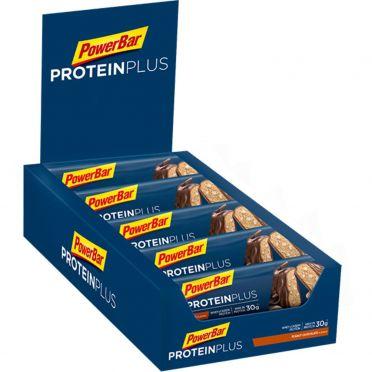 Powerbar Protein plus 33% bar chocolade pinda 10 x 90 gram