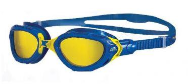 Zoggs Predator flex CV zwembril blauw/geel