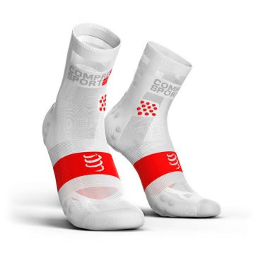 Compressport Pro Racing V3.0 ultralight hardloopsokken wit