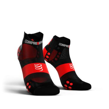 Compressport Pro Racing V3.0 ultralight lage hardloopsokken zwart