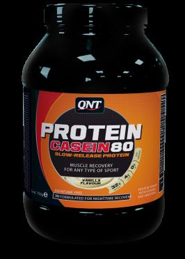 QNT Protein 80 casein vanille 5000 gram