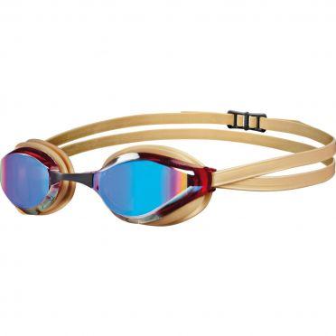 Arena Python mirror zwembril goud