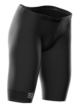 Compressport Trail running Under control compressieshort zwart dames