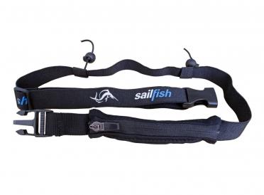 Sailfish Startnummerband met vakje zwart