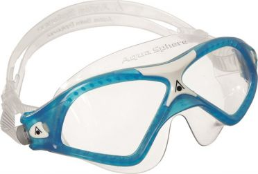 Aqua Sphere Seal XP 2 transparante lens zwembril blauw
