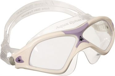 Aqua Sphere Seal XP 2 Lady transparante lens zwembril wit/paars