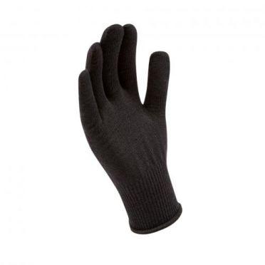 Sealskinz Solo Merino handschoen zwart