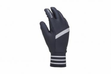 Sealskinz Solo reflecterende handschoen zwart