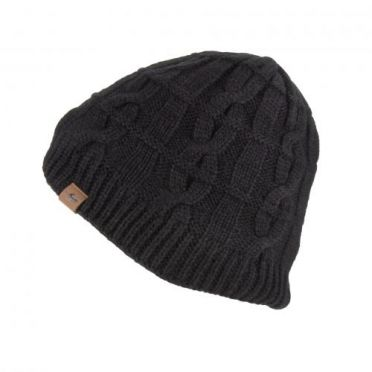 Sealskinz Cold Weather Cable knit beanie zwart