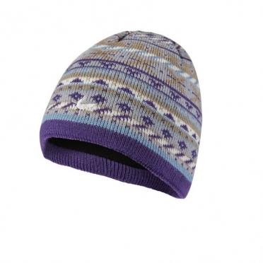 Sealskinz Waterproof Jacqyard Beanie Meadow
