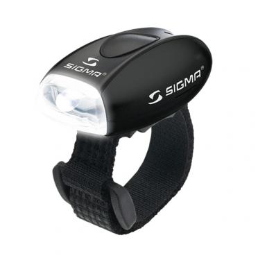 Sigma Micro LED koplamp zwart