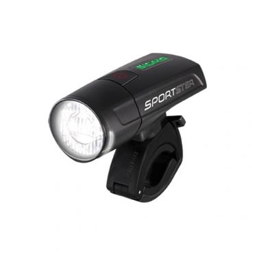 Sigma Sportster LED koplamp zwart