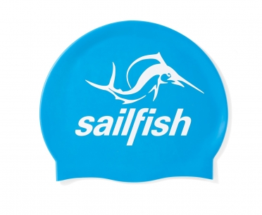 Sailfish Siliconen Swimcap blauw