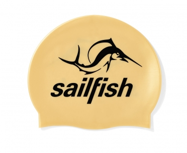Sailfish Siliconen swimcap goud