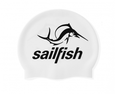 Sailfish Siliconen swimcap wit