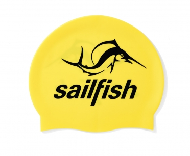 Sailfish Siliconen swimcap geel