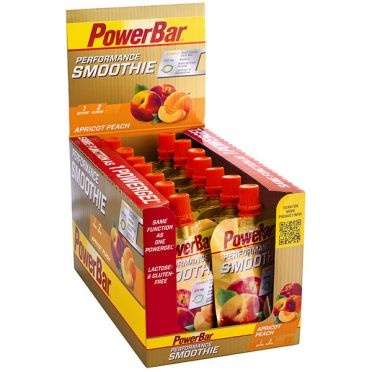 Powerbar Performance smoothie abrikoos perzik 16 x 90 gram