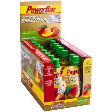 Powerbar Performance smoothie mango appel 16 x 90 gram
