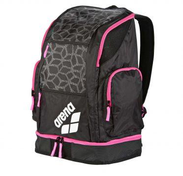 Arena Spiky 2 large rugzak zwart/roze