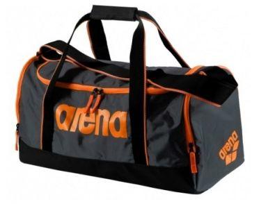 Arena Spiky 2 medium zwemtas grijs/oranje