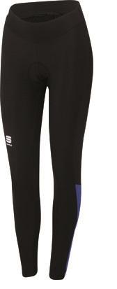 Sportful Diva Fietsbroek zwart-paars dames 01285-002