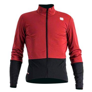 Sportful Total comfort fietsjas lange mouw rood heren
