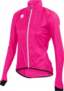 Sportful Hot pack 5 fietsjack roze dames 01137-204