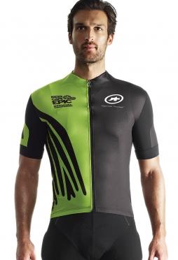 Assos SS.capepicXCJersey_evo7 fietsshirt green heren