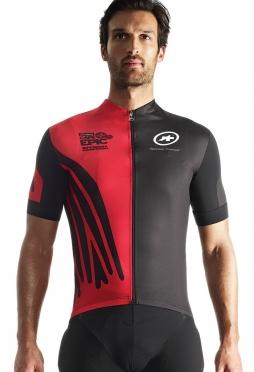 Assos SS.capepicXCJersey_evo7 fietsshirt rood heren