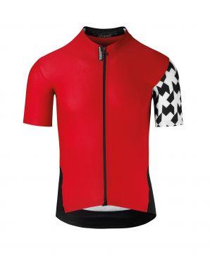Assos SS.Équipejersey_Evo8 fietsshirt rood heren