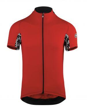 Assos Mille GT korte mouw fietsshirt rood heren