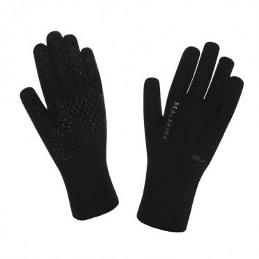 SealSkinz Ultra grip fietshandschoenen zwart