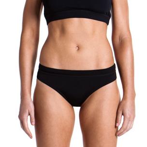 Funkita Still zwart Sports bikinibroekje dames