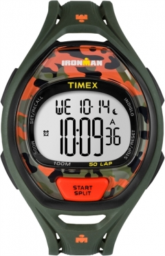 Timex Sleek 50 Camo Orange 42 mm