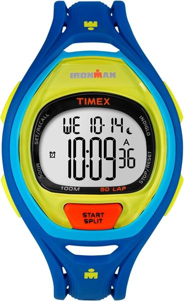 Timex Sleek 50 Color Block Blue