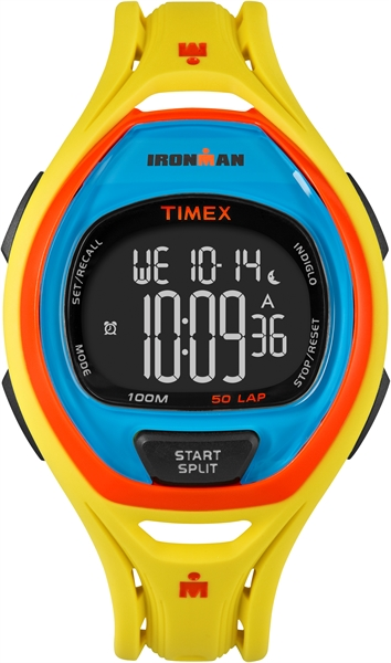 Timex Sleek 50 Color Block Yellow