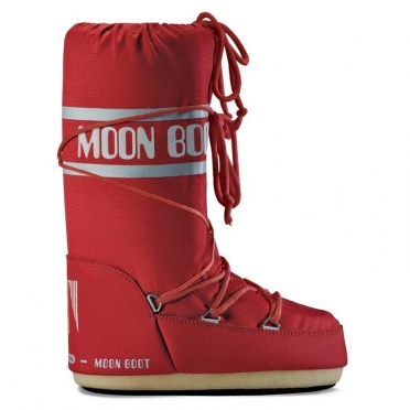 Moon Boot Nylon dames maat 35-38 rood