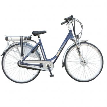 Dutchebike elektrische damesfiets touring blauw