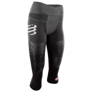 Compressport Trail running pirate 3/4 compressie broek zwart dames