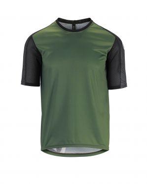 Assos Trail SS fietsshirt groen heren