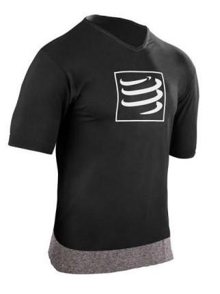 Compressport Training t-shirt zwart heren