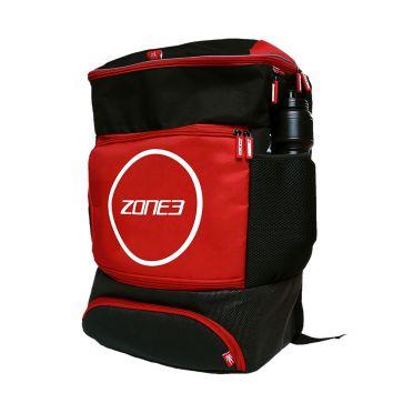 Zone3 Transition bag rugzak zwart/rood
