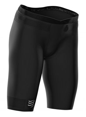 Compressport Under control compressie tri short zwart dames